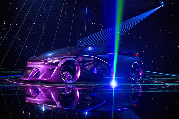 Электрический концепт-кар Chevrolet FNR