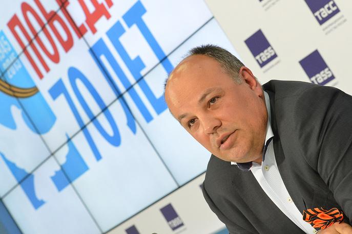 Начальник главного управления информационной политики Московской области Рубен Оганесов