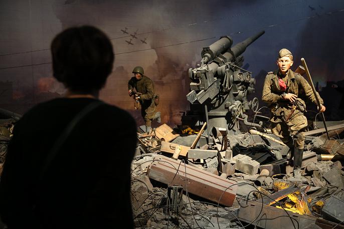 "Трехмерная панорама ""Битва за Берлин. Подвиг знаменосцев"""