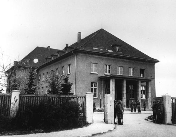 Дом в Карлсхорсте, где был подписан акт о безоговорочной капитуляции фашистской Германии