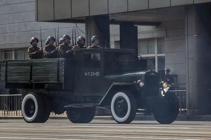 Военный парад в Калининграде