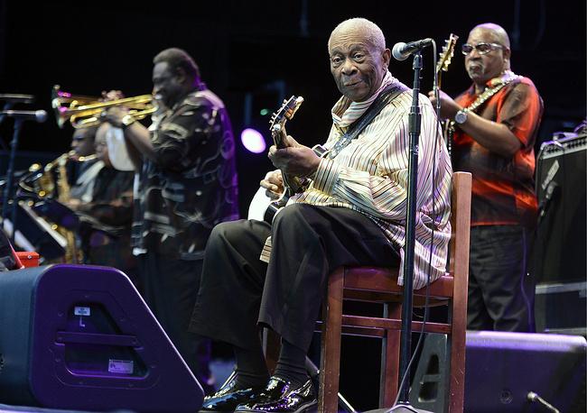 Легенда джаза на фестивале Sunset Festival в Цюрихе, Швейцария, 2012 год