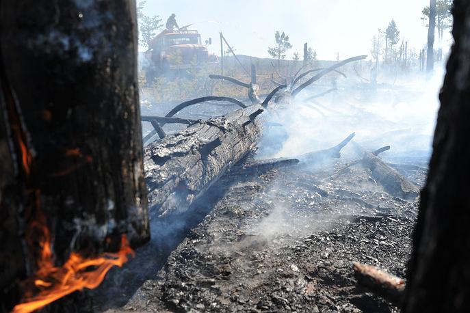 Пожары действуют в 16 районах края