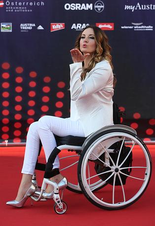 Представительница Польши Моника Кушиньска