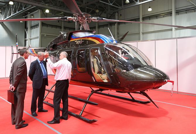 Вертолет Bell 407 GX