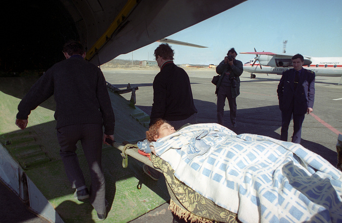 37 человек скончались на этапах эвакуации и в лечебных учреждениях
