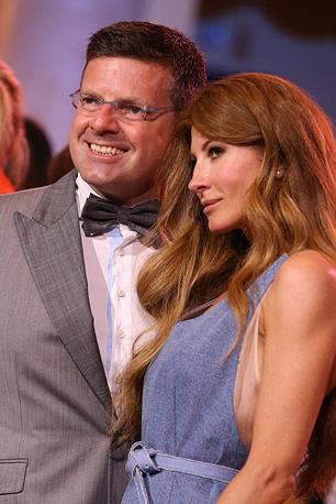 Директор по развитию компании Bosco di Ciliegi Константин Андрикопулос и его супруга Ольга Цыпкина