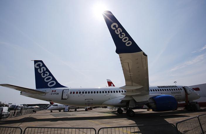 Новый самолет Bombardier CS300