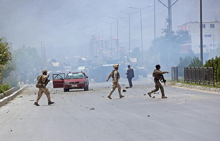 22 июня боевики напали на здание парламента в столице Афганистана