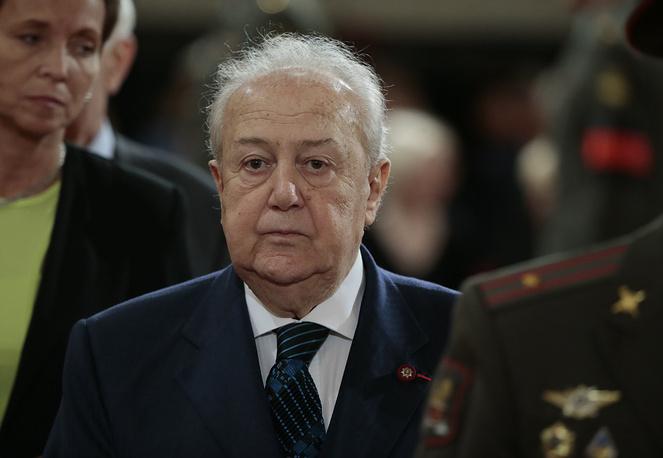 Президент Российской академии художеств скульптор Зураб Церетели