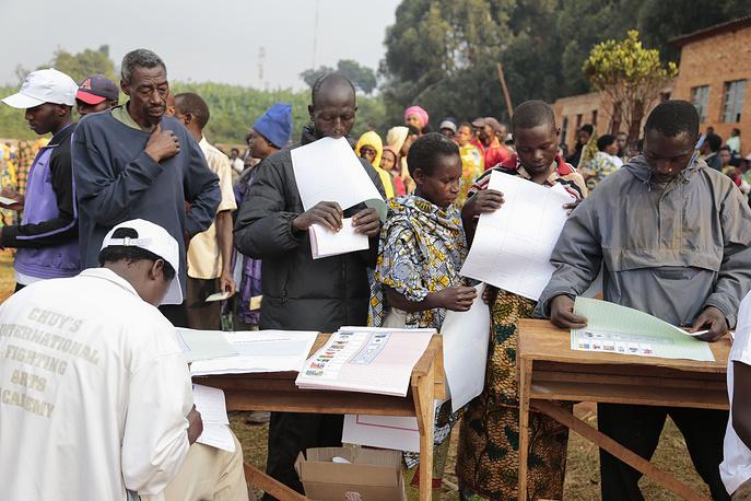 29 июня в Бурунди прошли парламентские выборы