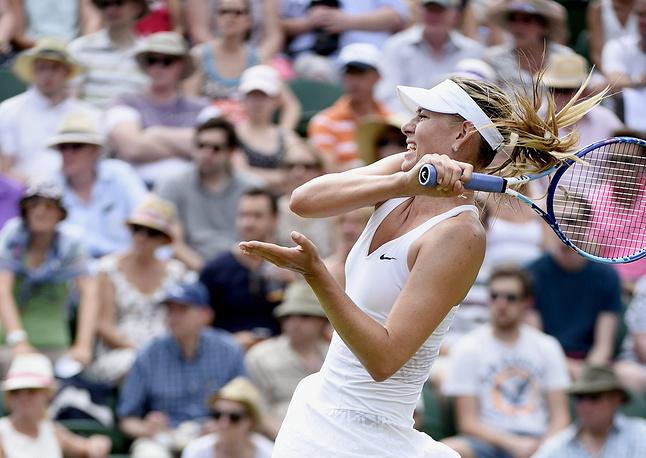 """29 июня в Великобритании стартовал Wimbledon. К концу первой недели на турнире """"Большого шлема"""" осталась лишь одна представительница России - первая ракетка страны Мария Шарапова"""