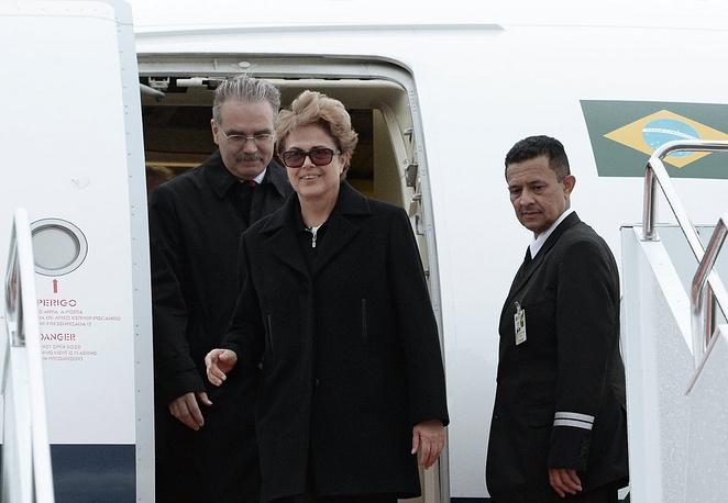 Президент Бразилии Дилма Роуссефф