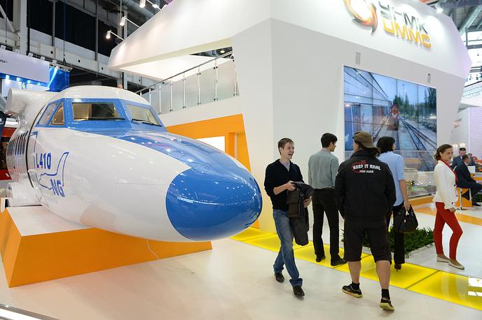 Полномасштабный макет фюзеляжа самолета L 410 NG