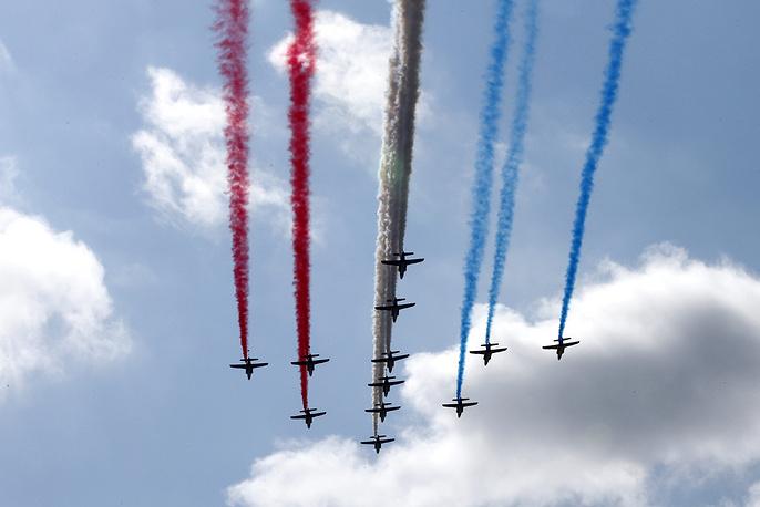 Пилотажная группа ВВС Франции Patrouille de France
