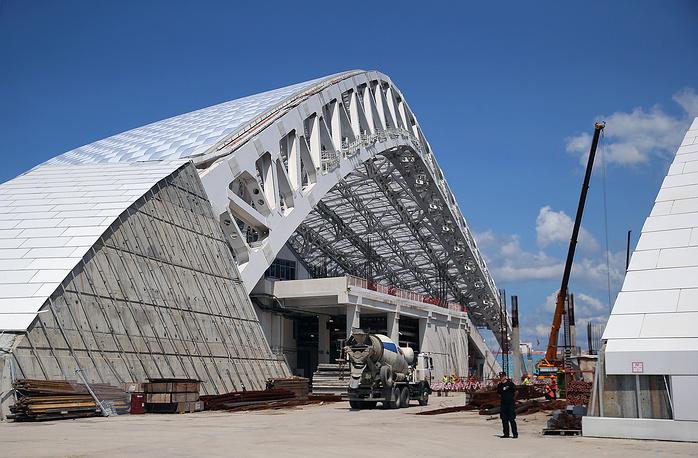Вместимость арены, на которой прошли церемонии открытия и закрытия зимних Олимпийских игр, после завершения чемпионата-2018 будет сокращена до 25 тыс. зрителей