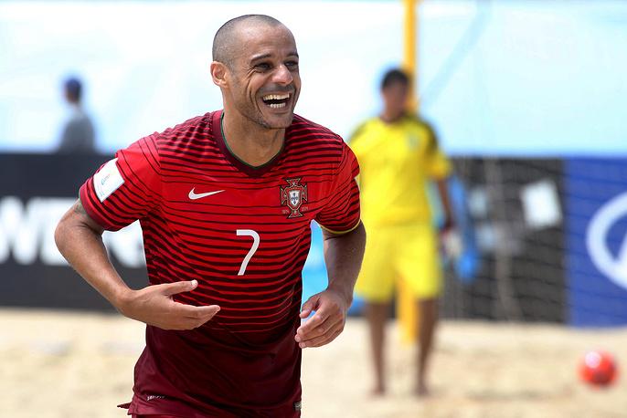 Капитан сборной Португалии по пляжному футболу, чемпион мира-2015 Жуан Маджер