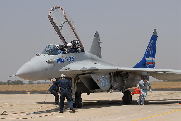 """МиГ-35 - истребитель российского производства поколения """"4++"""""""