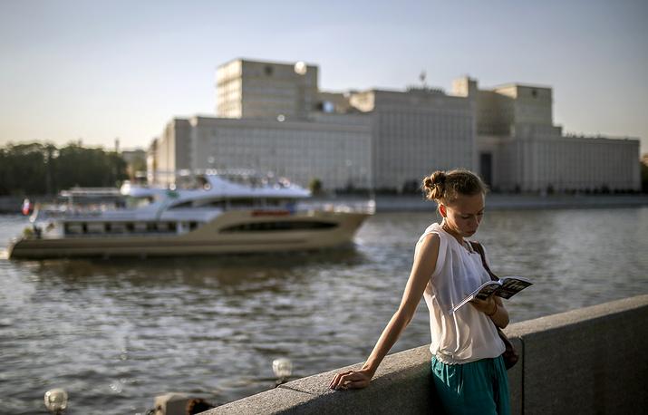 Пушкинская набережная, Москва