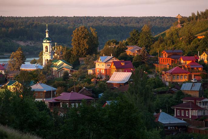 Город Плес. Ивановская область