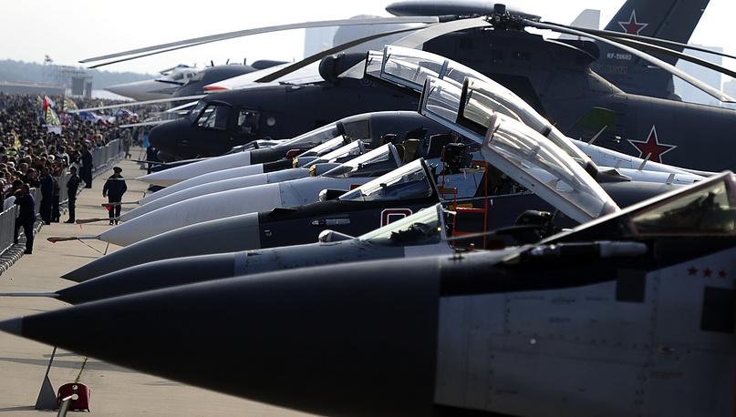 МАКС-2013: военная авиационная техника