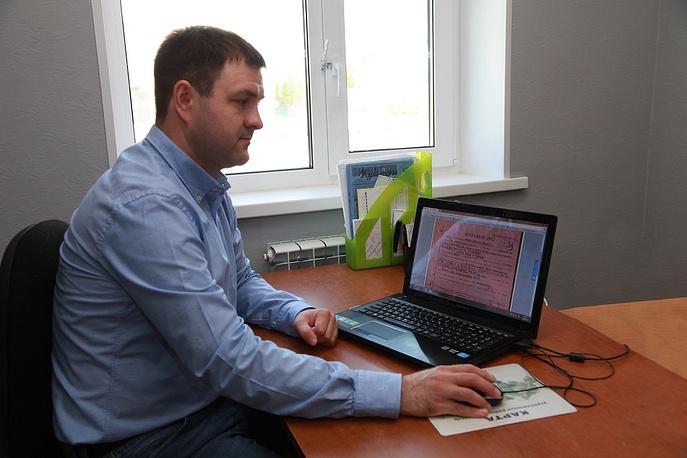 Координатор городского отделения ЛДПР в Муравленко Денис Садовников