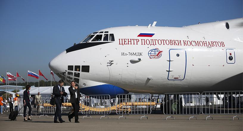 Самолет-лаборатория Ил-76МДК Центра подготовки космонавтов