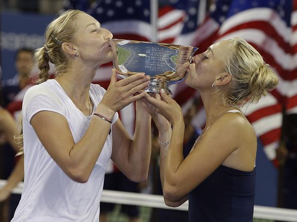 На сегодняшний день Екатерина Макарова и Елена Веснина являются последними отечественными победителями US Open. В 2012 году они выиграли турнир в парном разряде