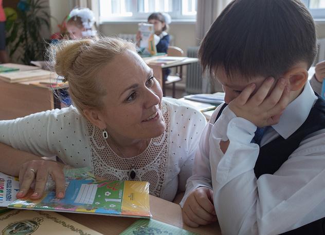 Омск. Общеобразовательная школа при православном храме священномученика Сильвестра Омского