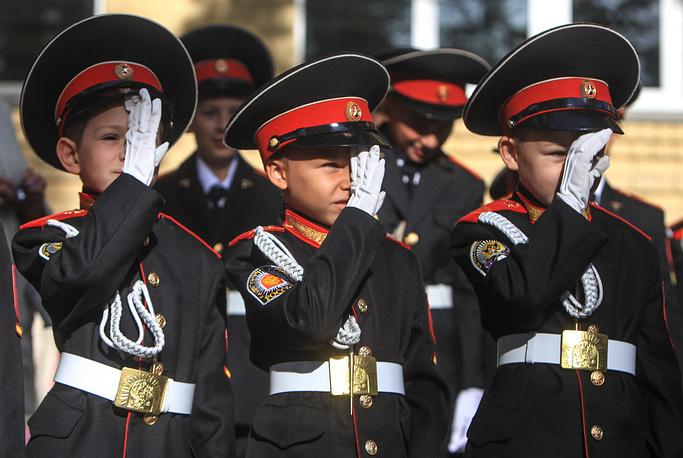 Павловск. Павловская кадетская школа