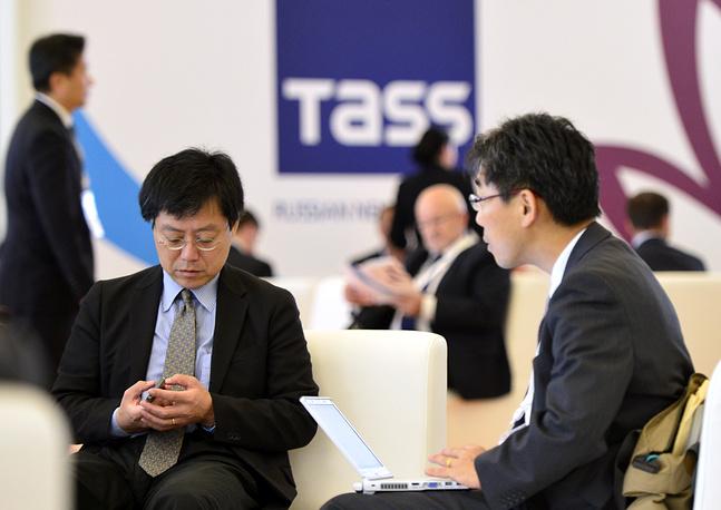 Посетители Восточного экономического форума