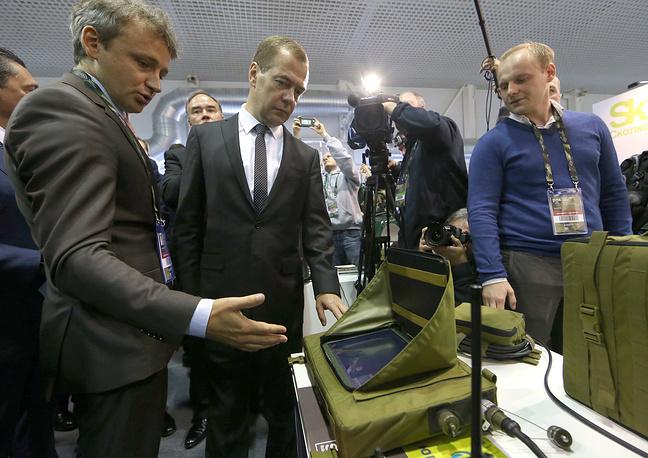 """Фонд """"Сколково"""" представил свои новейшие разработки для военно-промышленного комплекса России"""