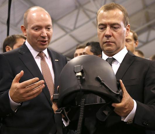 Защитный шлем из экономнолегированного титанового сплава VST2, разработанного учеными и технологами ВСМПО-АВИСМА