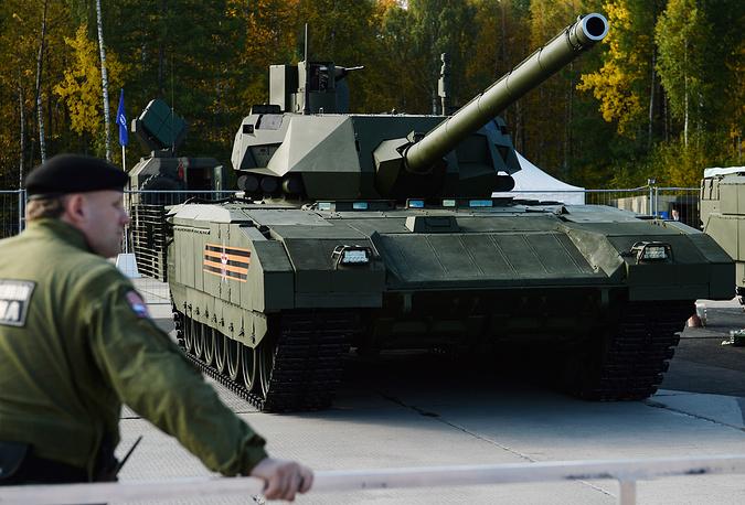 """Т-14 - боевой танк на тяжелой гусеничной платформе """"Армата"""", должен стать основой будущего вооружения российской армии"""