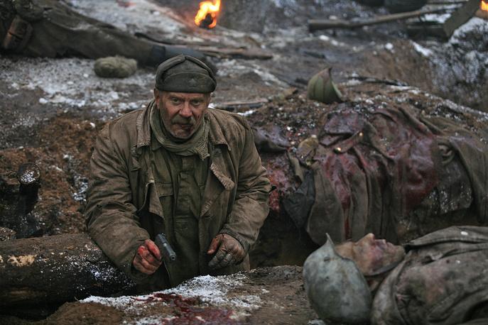 """Никита Михалков в сцене из фильма """"Утомленные солнцем - 2: Предстояние"""", 2010 год"""