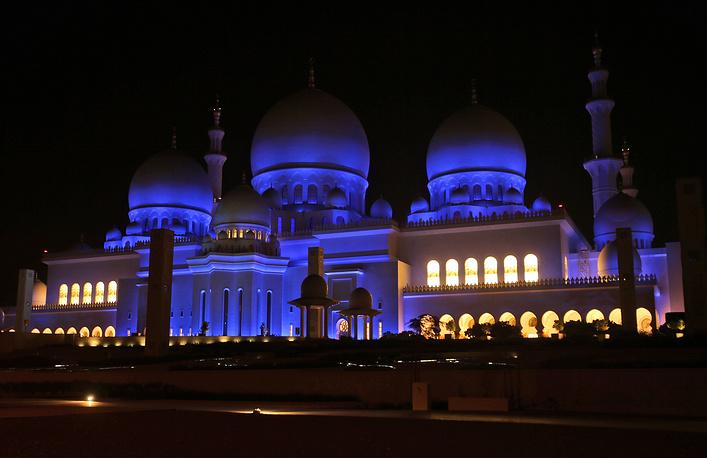 Мечеть шейха Зайда, Абу-Даби, ОАЭ