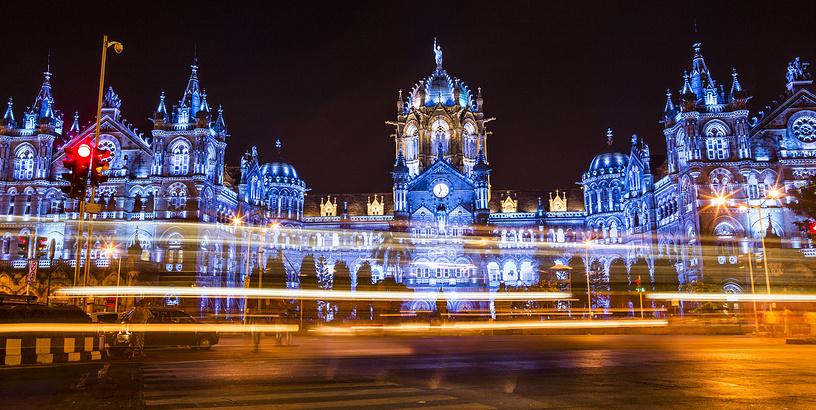 Вокзал Чхатрапати Шиваджи, Мумбаи, Индия