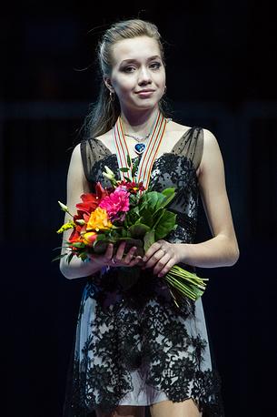Фигуристка Елена Радионова