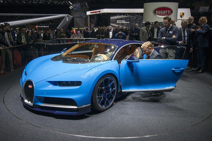 Показ нового Bugatti Chiron