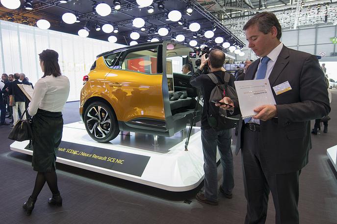 Демонстрация особенностей нового Renault Scenic