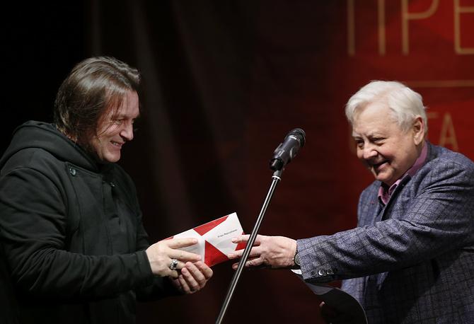 Лауреат премии актер Игорь Миркурбанов