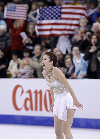 Спортсменка получила серебро, набрав 215,39 балла