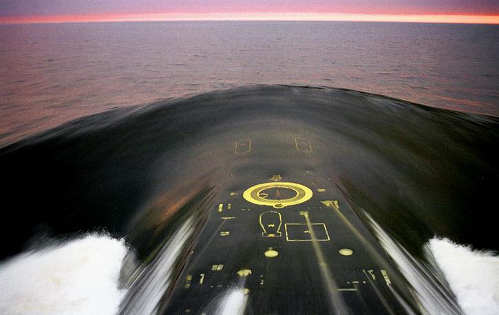 """Атомный ракетный подводный крейсер стратегического назначения """"Верхотурье"""""""