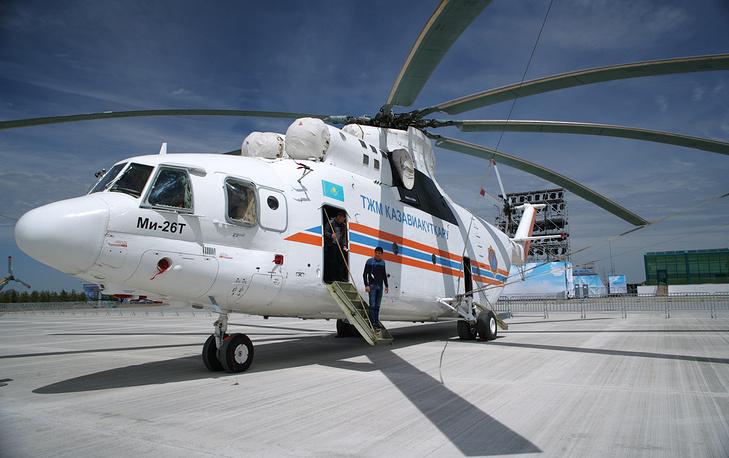 "Вертолет Ми-26Т ""Казспас"""