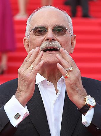Президент Московского международного кинофестиваля, режиссер Никита Михалков