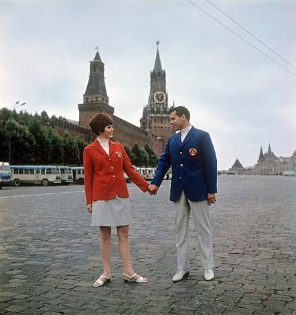 Игры-1968. На Олимпиаде в Мехико советские спортсмены заняли второе место в медальном зачете, завоевав 96 наград (29, 32, 30)