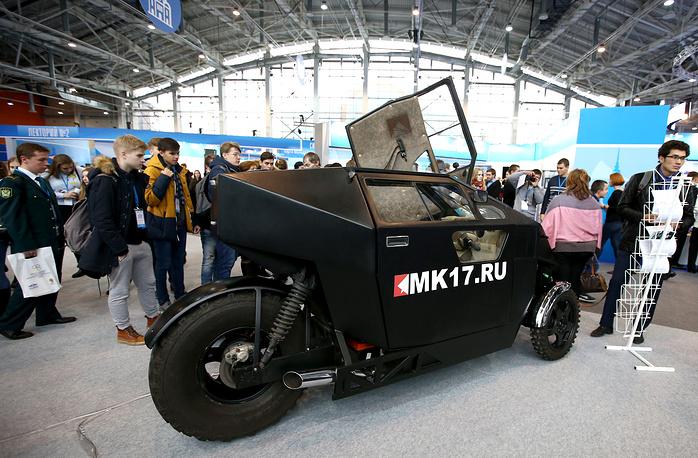 Транспортное средство нового технологического уклада МК-17