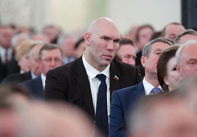 Первый заместитель председателя Комитета Госдумы РФ по экологии и охране окружающей среды Николай Валуев