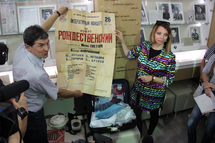 X Рождественские чтения в Косихинском районе Алтайского края посетила дочь известного поэта Екатерина Рождественская