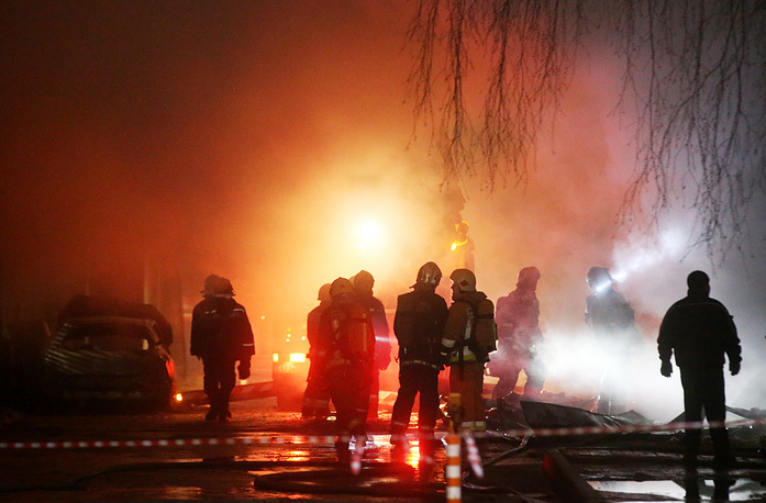 Впроцессе пожара напетербургском скалодроме погибла женщина